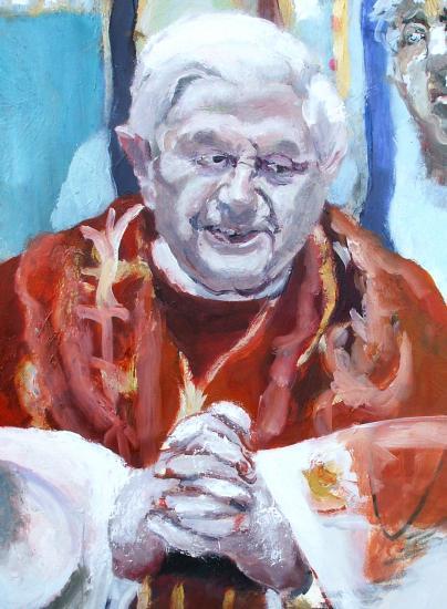 Pope Benedict XVI por danielefaiola